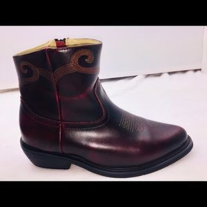 1a5674b18f5 Saddle Tramp Cordovan Leather Cowboy Western Boots